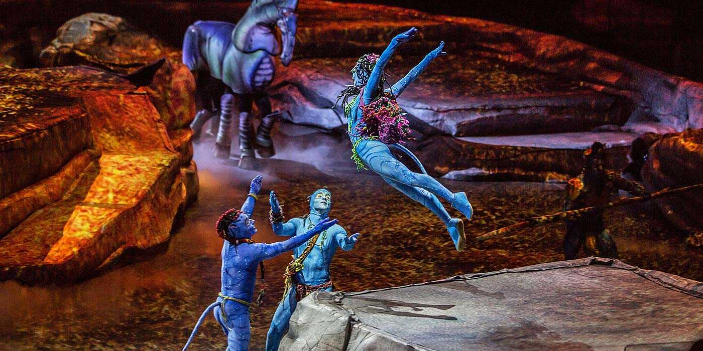 Cirque Du Soleil TORUK – The First Flight