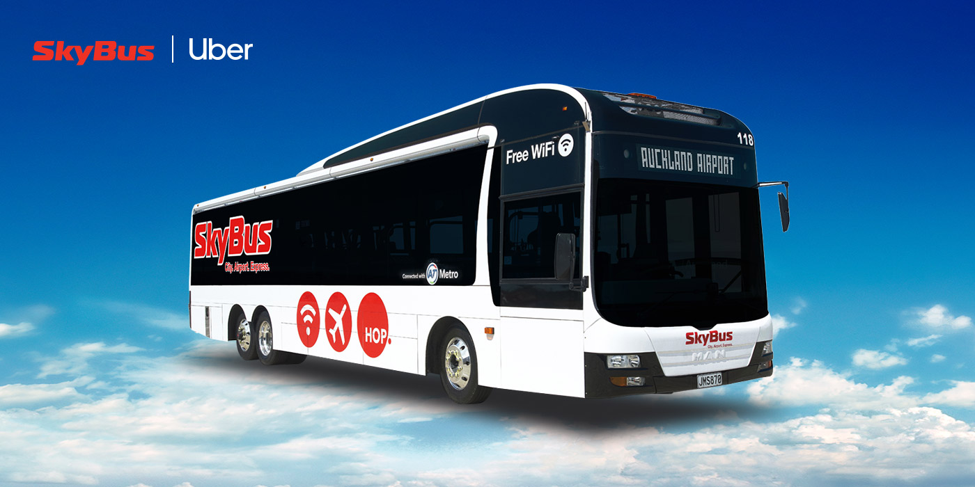 SkyBus and Uber have collaborated to bring together an Australasian first