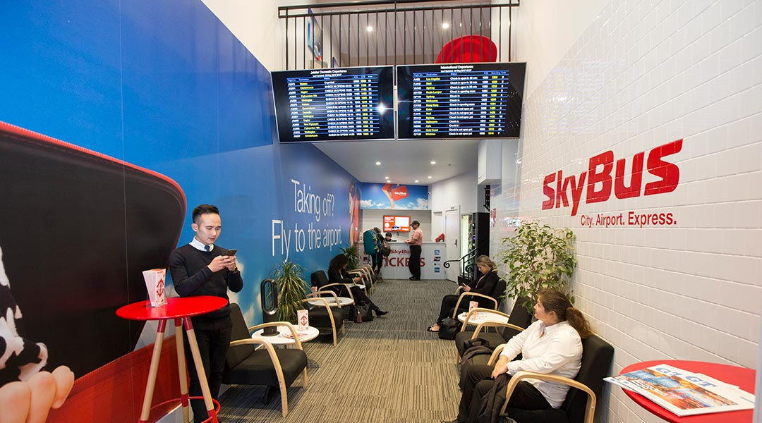 SkyBus City Lounge