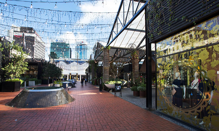 Britomart transport and dining precinct